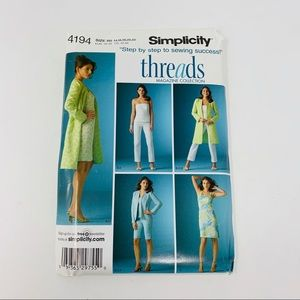 Simplicity | Patterns # 4194 Size R5